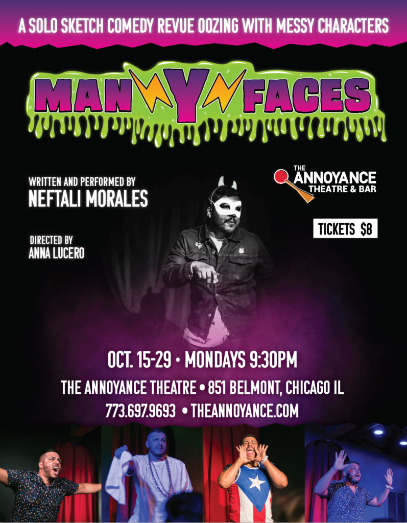 Man Y Faces, Written and Performed by Neftali Morales